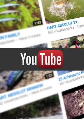 Youtube de Hart Fishing